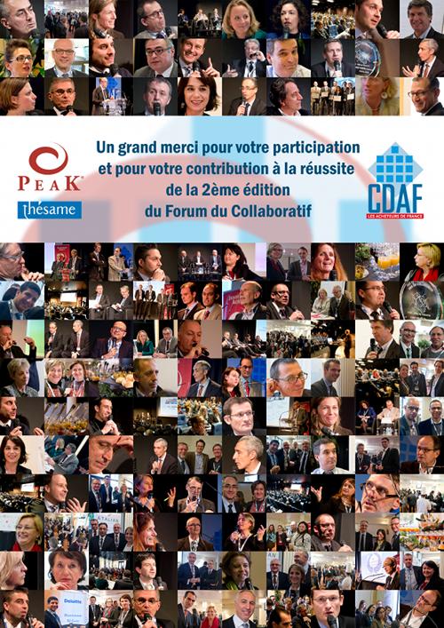 Merci pour le Forum du Collaboratif 2015