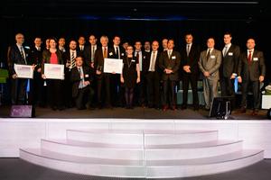 Podium du Trophées Décision Achats 2014